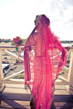 Gorgeous bridal attire