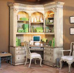 Edwardian Corner Home Office Habersham Products