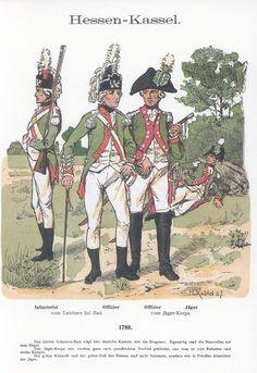 Band XVIII #16.- Hessen-Kassel. Infanterie. 1789.