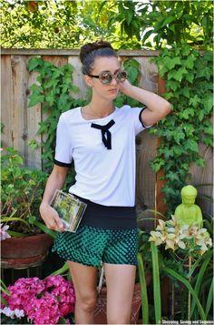 Shopping, Saving & Sequins: Shorts and Sockbuns
