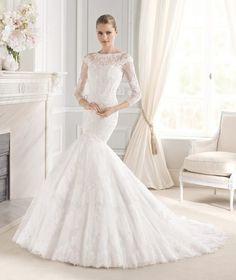 Novias: 8 tendencias de moda nupcial -Mi Boda #vestido #novia #bodas #novias #ideas #inspiración #MiBoda Más