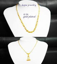 Gold Plated Necklace, Gold Necklace, Plating, Indian, Chain, Jewelry, Gold Pendant Necklace, Jewlery, Jewels