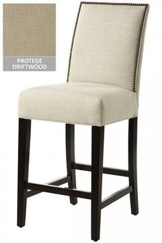 Custom Straight-Back Counter Stool from Home Decorators