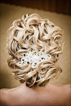Elegant Wedding Updos For Long Hair @natalimolina This would look BEAUTIFUL with the dress and veil.
