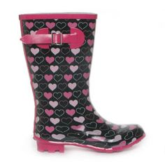 Wellies with hearts