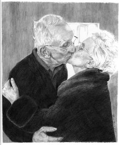 For Elderly Archives Couples Âgés, Beaux Couples, Elderly Couples, Couples In Love, Old Love, Love Can, Real Love, True Love, Big Bisous