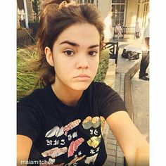 Maia is a natural beauty