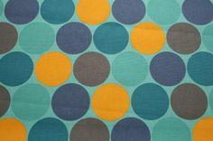 KK228 - Disco Dots in Blue/Yellow