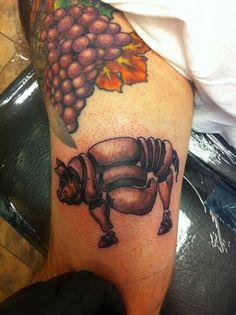 New pig tattoo