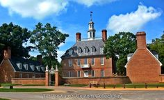 Governor's mansion in Historic Colonial Williamsburg Virginia by THCustomCollectibles, $5.00