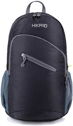 #1 Rated Ultra Lightweight Packable Backpack 25L Hiking Daypack + Most Durable Light Backpacks for Men and Women / the Best Foldable Camping Outdoor Travel Biking School Air Travelling Carry on Backpacking HIKPRO http://smile.amazon.com/dp/B00HEZ9V3Q/ref=cm_sw_r_pi_dp_vg-uwb1F9B0NS