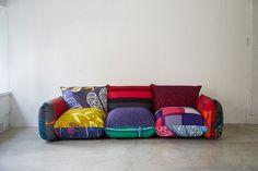 マリメッコのデザイナー鈴木マサル×マレンコのモダンで可愛いソファ