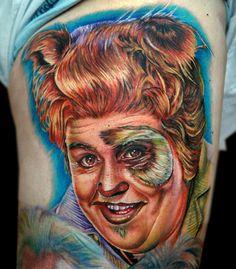 Spaceballs Yeah! jedna z lepszych parodii, w wersji tatuowanej ;)