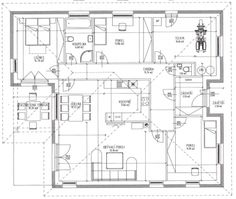 Rozdělit technickou a udělat z kusu pracovnu/pokoj pro hosty