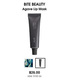 Agave Lip Mask by Bite....the BEST $26 I've spent!!!!