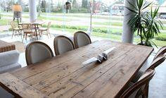 MARABIERTO - Mesa de comedor Harvest y sillas Roundback