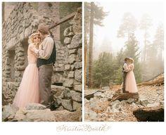 {Steve and Savannah} Enchanted Fairytale Engagement Photos in the Foggy Woods #Fairytale #Dreams
