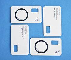 The Most Creative Photographer Business Cards | iBrandStudio