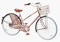 Maybe with this one I'd actually exercise and ride a bike.. Missoni for Target.