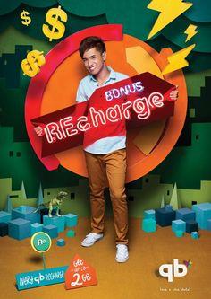 Bonus Recharge,. AD Communication, Phnom Penh, Cambodia Creative Director Juveris Tenisons http://adsoftheworld.com/search?search_api_views_fulltext=Bonus+recharge