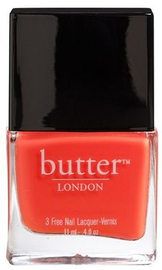 2ff399ec8a95 Coral-colored nail polish from Butter London London Nails