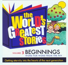 The World's Greatest Stories Vol. 3 Beginnings - NIV by George W. Sarris http://www.amazon.com/dp/0976774429/ref=cm_sw_r_pi_dp_2ySVvb1A215C7