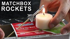 matchstick rockets with kit