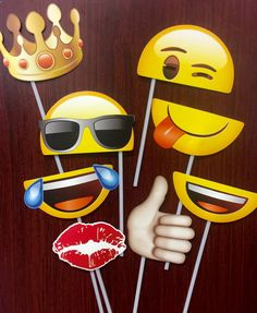 Emoji Photo Prop by SweetPartyAndCraft on Etsy