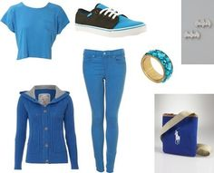 Ria Lindsay's stylebook at ShopStyle: Spring/Summer Blue Casual on shopstyle.co.uk