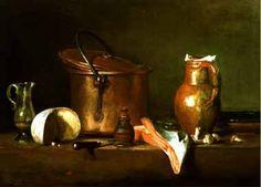 Jean Baptiste Simeon Chardin Copper painting