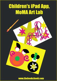 MoMA Art Lab - free #iOSedapp, kids can make and save digital art.