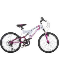 Buy Muddyfox Radar Pink 20 inch Wheel Size Kids Mountain Bike at Argos. Kids Mountain Bikes, Mountain Biking, Dual Suspension Mountain Bike, 20 Inch Bike, 20 Inch Wheels, Presents For Kids, Kids Bike, Frame Sizes, Argos