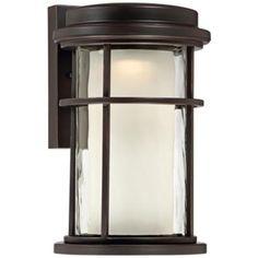 "Park View Bronze 10 1/2"" High LED Outdoor Wall Light"