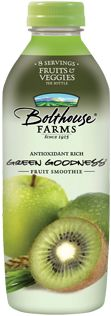 Bolthouse Farms Smoothies are healthy and delicious!