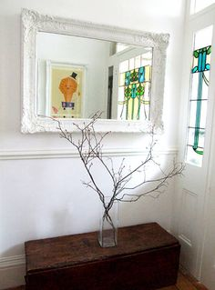 Rustic chic entryway rustic entryway ideas that warm up the whole house home interior candles holders . rustic chic entryway entryway decorations home Rustic Entryway, Entryway Decor, Entryway Ideas, Foyer, Rustic Chic, Rustic Decor, Walking On Broken Glass, Old Mirrors, Frame Mirrors