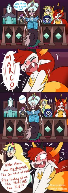 """heckin-hekapoo: """"What if Hekapoo had the out burst of honesty instead? """" Hekapoo the absolute madwoman!"""