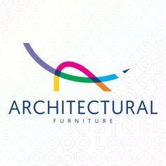 A place for designers to discuss work and life Lounge Logo, Brand Identity, Branding, Make Your Own Logo, Premium Logo, Logo Design, Graphic Design, Furniture Logo, Logo Maker