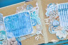 Всем привет) Сегодня с вами Ирина Кузнецова и я расскажу вам о своей любви к лету и летне-морской коллекции бумаги и украшений BLUE SE...