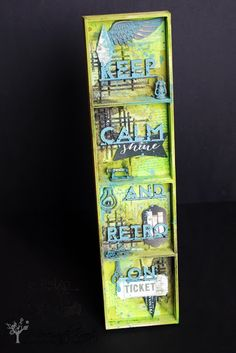 Retro Kraft Shop: Retro Tutki: Przegródkowy box krok po kroku / Retro Tutorials: Comparment box step by step