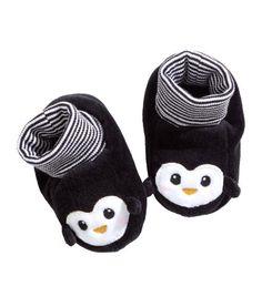Velour Slipper Socks | Product Detail | H&M