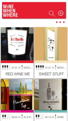 Wine When Where - Now available in the App Store!