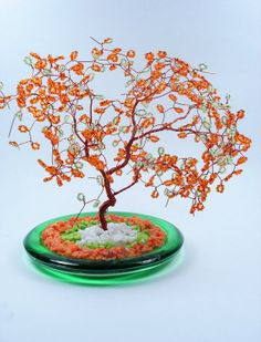 Wire Bonsai Art Tree by wireforest on Etsy, $49.00
