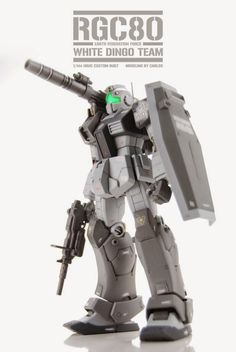 HGUC 1/144 GM Cannon (White Dingo Team Custom) customized build - Gundam Kits Collection News and Reviews