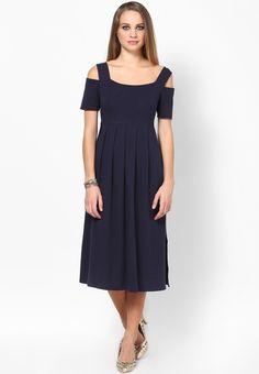 High Waist Pleated Dress $57.00 (24% OFF) https://www.dollyfashions.com/alia-bhatt-for-jabong-high-waist-pleated-dress-3000586109.html?