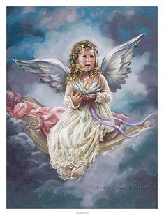 child angel ~ Sandra Kuck, artist