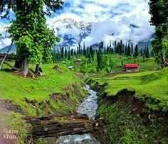 Heaven of Pakistani Earth Kel Neelum valley Azad Kashmir Pakistan
