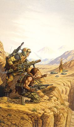 Prints and books by fantasy artist Larry Elmore