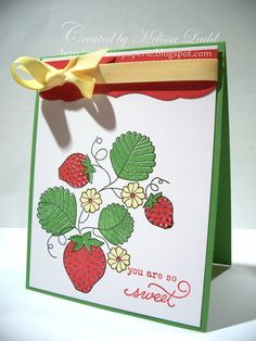 PTI Strawberry Patch, Strawberry Patch Sentiments