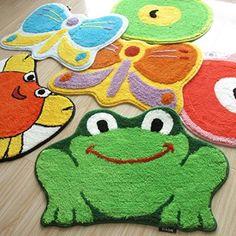 Luxbon Popular Frog Color Green Soft/smooth/flexible rug 😍