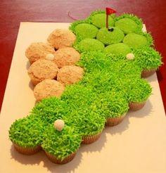 ★ Golf cupcakes